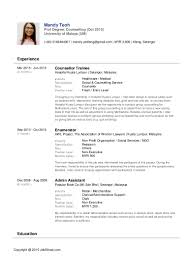 Delighted Resume Format Jobstreet Photos The Best Curriculum