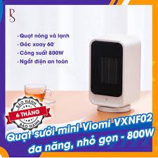 Máy sưởi để bàn Xiaomi - Viomi VXNF02 - công suất 800W - làm ấm nhanh -  ngắt điện khi đổi - vỏ chống cháy