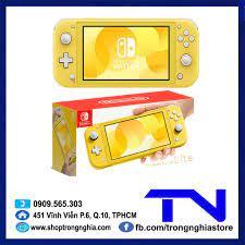 Máy Chơi Game Nintendo Switch Lite Yellow [ mới 100%] chính hãng 4,990,000đ