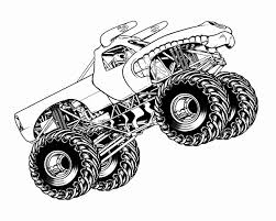 Monster Truck Kleurplaat Fantastisch Digger Colouring Pages 188 Best