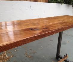 Natural Wood Dining Tables Long Rustic Dining Table Plain Ideas Solid Wood Dining Room Table