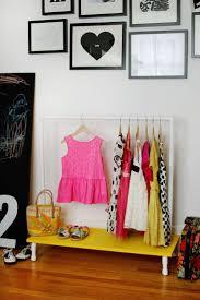 DIY Kids Clothes Rack