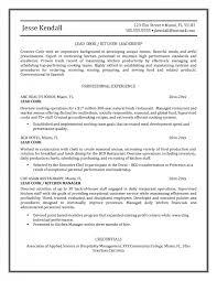 resume killer resume for chefs chef resume objective examples example resume sample chef resumeresume sample chef sample resume for chef