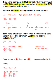 inequality word problem