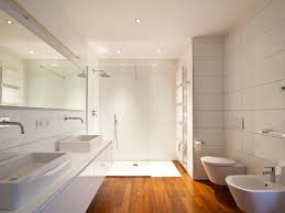 Bathroom White Cabinets Bathroom Contemporary Walk In Shower Remodel In Minneapolis Light