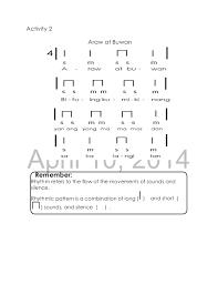 Rhythmic Pattern Inspiration Music 48 Lm Full English