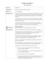 Marketing Manager Job Description Template By Sales Position