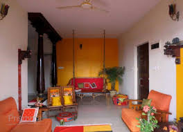 indian style living room interior