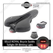 Saddle Light Selle Royal Fizik Bicycle Saddle Taillight Sr Blinking Light Cycling Warning Rear Light Road Bike Led Flashing Lamp With Battery