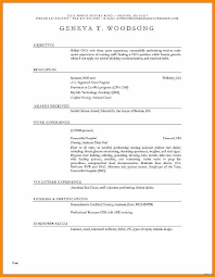 Resume Templates Word Free Download New Ms Word Resume Templates