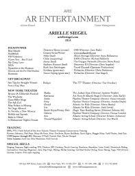 88 Acting Resume For Beginner Headshot Resume Resume For