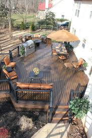 Outdoor: Small Backyard Deck Decoration - Backyard Deck