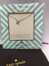 58 kate spade one in a million crystal pendant necklace letter r 188dd
