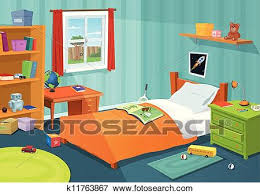 kids bed clip art. Unique Clip Clip Art  Some Kid Bedroom Fotosearch Search Clipart Illustration  Posters Drawings To Kids Bed P