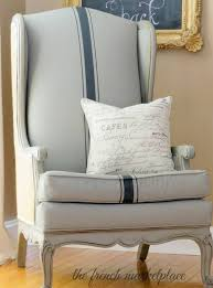 furniture chalk paintUsing Chalk Paint to Paint Your Couch or Wing Back Chair  The