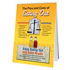 Healthy Eating Out Flip Chart