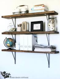 diy wood shelves storage office shelves by the wood grain cottage diy wood shelves storage plans
