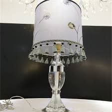 new design antique crystal chandelier table lamp