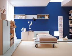 Small Picture Bright Two Tone White and Blue Bedroom Nursery Interior Paint With