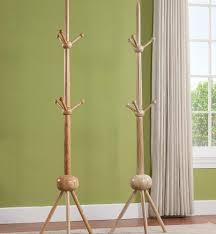 Large Coat Rack Stand Upscale Cherry Coat Rack Coat Rack Entryway Furniture Furniture To 95