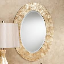 mirror oval. akasha oval wall mirror natural. click to expand t