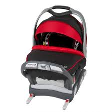 inertia infant car seat in jester fashion includes colors black red white and