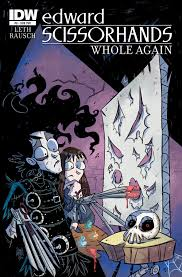 edward scissorhands whole again part three idw publishing edwardscissorhands08 cvr edwardscissorhands08 cvrsub