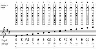 Flutophone Finger Chart How To Play Happy Birthday On Recorder Google Search In