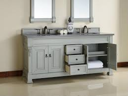 grey double vanity. Exellent Double Abstron 72 Inch Grey Double Bathroom Vanity Optional Countertops With