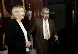 Image result for fotos de luisa ortega con oscar arias