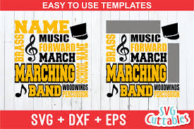 Marching Band Show Design Software Free Marching Band Subway Art By Svg Cuttables Thehungryjpeg Com