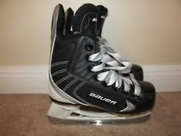 Details About Size 10r Youth Bauer Flexlite 44 Hockey Skates Very Good