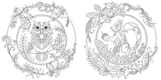 The Enchanted Forest Coloring Book For Adults Beautiful お洒落な大人