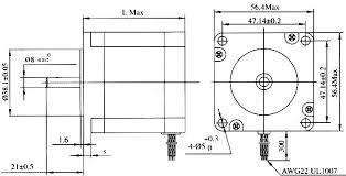 us stock atilde axis usbcnc nema stepper motor oz in dual shaft 57 76 100 112dra wiring