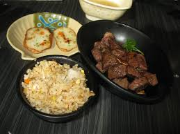 Fish Cake Beef Steak Fried Rice Picture Of Ten Ichi Japanese