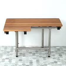 wall mounted fold down seat shower bench compliant with legs hung folding metal table leg brackets picnic folding bench