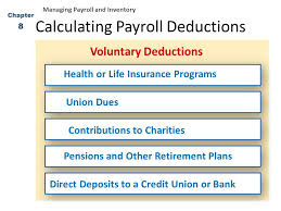 Estimate Payroll Deductions Business Math Chapter Ppt Download