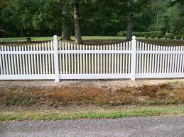 vinyl picket fence front yard. Long Gate Vinyl Fences In Lexington Park Picket Fence Front Yard