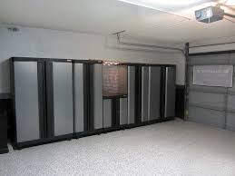 Large Garage Cabinets Awesome Large Garage Shelves And Storage Cabinets With Grey And