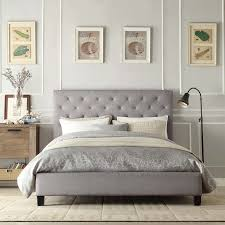 tufted upholstered bed. 15 Photos Gallery Of: Astonishing Tufted Upholstered Bed Fabric