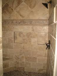 Excellent Travertine Shower Tile With Minimalist Interior Home Design Ideas  with Travertine Shower Tile