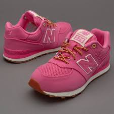 new balance shoes for girls pink. girls unusual new balance kl574v1p shoes (pink) - rave reviews v72a2202 for pink