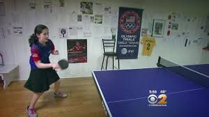 Extreme Ping Pong Long Island Girl Hoping To Take Ping Pong Talents To Olympics