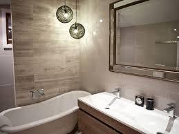 hanging lights for bathrooms stunning pendant bathroom home ideas 39