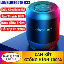 Loa bluetooth q33 âm thanh hifi, bass siêu trầm, âm thanh chuẩn, bluetooth  5.0, có hỗ trợ thẻ nhớ 32gb - Sắp xếp theo liên quan sản phẩm