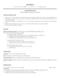 Skill Based Resume Template Inspiration Sample Resume For Java Developer Resume For Java Developer