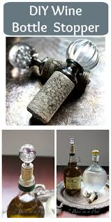 How To Make Decorative Wine Bottle Stoppers 100 best bottles images on Pinterest Crafts Deko and Garden 15