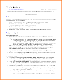Hr Generalist Resume 100 human resources generalist sample resume action words list 40