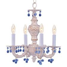 prince halfords antique white chandelier