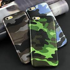 <b>Army Camouflage Leather</b> Back Cover <b>iPhone</b> Case – <b>Phone</b> Fancy
